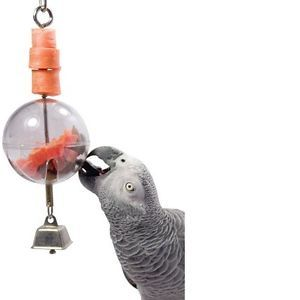 "Creative Sphere 3"" Small Bird Feeder Seed Pet Toy Parrot Cage Tool Parakeet New"