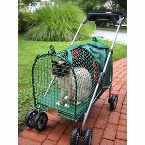 New Kwpsne Kittywalk Emerald Stroller Carrier for Pet Small Dog Cat Puppy