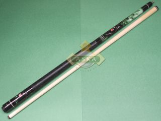 Billiard Pool Cue Stick Aska WL21 Black Panter