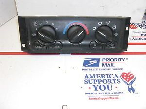 AC Heat Temp Climate Control 00 01 02 03 Chevy Impala Monte Carlo A C Heater