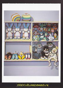 Wayne Thiebaud Stuffed Toys 1996 2002 Art Artwork Painting Postcard