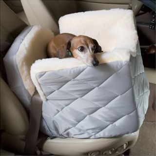 Snoozer Lookout I Pet Car Perfect Booster Seat for Dogs Small Hot Pink Vinyl
