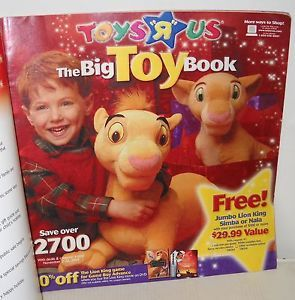 3055 Toys R US 2003 Big Toy Book Holiday Toy Catalog