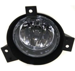 FO2592184 Left New Fog Light Lamp Clear Lens Halogen Driver Side LH Hand Ford