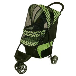 Regal 3 Wheel Foldable Pet Dog Cat Safety Outdoor Travel Jogger Carrier Stroller