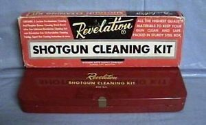 Vintage Revelation Western Auto 410 GA Shotgun Cleaning Kit w Orig Box VGC