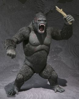 Bandai Bandai SHM s H MonsterArts King Kong 16cm Action Figure New Monster Arts