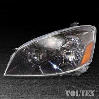 2005 2006 Nissan Altima Headlight Lamp Clear Lens Halogen Driver Left Side