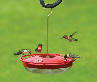 Bird Feeder Large Hummzinger High View Hummingbird Feeder 12 Oz