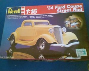 34 Ford Coupe Street Rod by Revell 1 16 Complete Kit