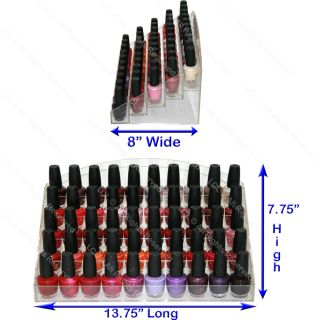 New Acrylic Nail Polish Table Counter Top Display Rack Stand Spa Salon Equipment