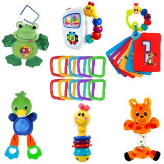 New 16 Piece Collection of Einstein Baby Toys Soft Plush Teethable Musical Toys