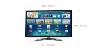 "Samsung UE40ES6100W 40"" 3D LED LCD 200Hz Smart TV WiFi 2 3D Glass Included"