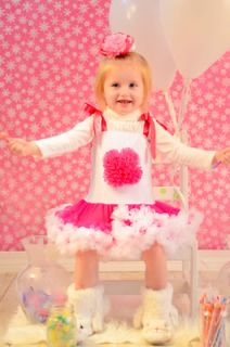 Baby Girl Boutique Clothing Valentine's Dress Birthday Pageant Dress Size 2T