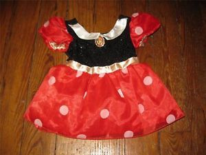 Disney Minnie Mouse Baby Girl Size 18 24 Months Halloween Costume C20