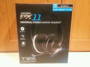 Turtle Beach EarForce PX11 Universal Gaming Headset for PS3 Xbox 360 PC Mac