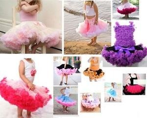 A043 Girl Baby Kids Skirt Party Dance Dress 1 Pcs Pettiskirt Tutu COSTUME1 8Year