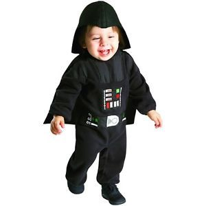 Darth Vader Costume Baby Toddler Star Wars Sith Lord Halloween Fancy Dress