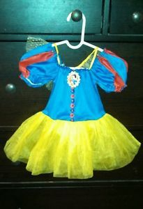 Baby Halloween Costume Disney Princess Snow White Tutu Dress 3 12 Months