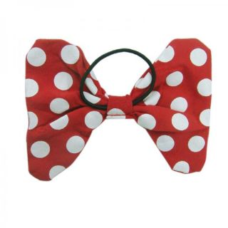 Girls Baby 2T Minnie Mouse Dress Red Polka Dots Party Costume Cute Free Hair Tie