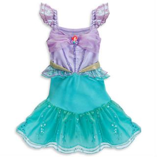 New Authentic Disney Little Mermaid Ariel Costume Baby Toddler Girls