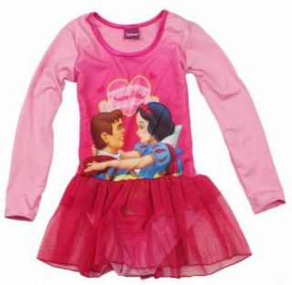 New Disney Snow White Girls Fairy Ballet Dance Loetard Costume Dress Tutu Sz3 7Y