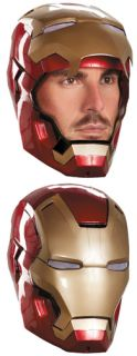 Mens Iron Man Mark 42 Helmet for Halloween Costume