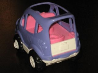 Fisher Price Little People Sweet Sounds Dollhouse Musical Minivan Music Talking