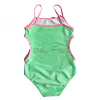 Girl Tangled Rapunzel Monokini Kid Swimsuit Swimwear Bathing Suit 1 Piece Sz 5 6