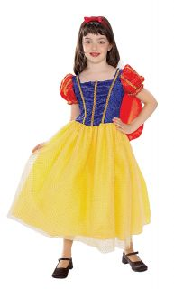 Snow White Girls Halloween Costume Size Small Disney Princess Fairytale Dress