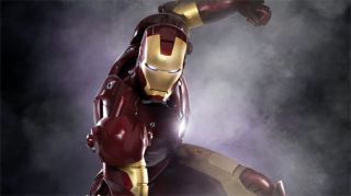 Iron Man Mark 6 Rental Costume Shoulder Helmet Collector Fantasia Homem de Ferro