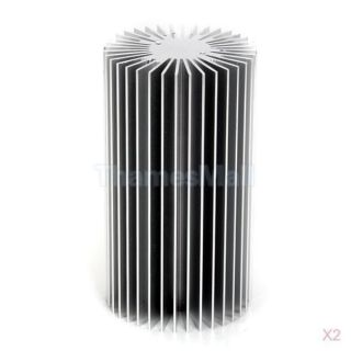 2X Aluminum Heatsink Cooling Cooler Heat Spreader for 10W LED Light Bulb