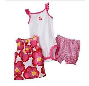Carters Baby Girl Clothes Summer 3 Piece Set Pink 3 6 9 12 18 24 Months