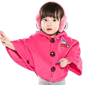 Made in Korea Star Cape Baby Boy Girl Infant Warm Clothing JK 300