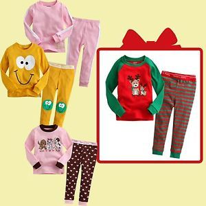 "★free Christmas Gift★vaenait Baby Kid Girl Clothes Sleepwear Pajama Set""Gift 13"""
