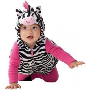 Baby Girl Zebra Outfit Halloween Costume 3 PC Set 3 6 9 M Month Carter's New