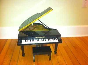 American Girl Baby Grand Piano and Bench