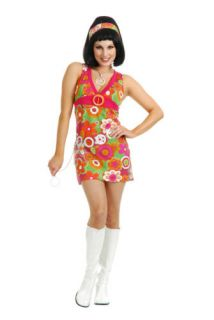 Go Go Girl Santa Barbara Sweetie Halloween Costume Medium Small Adult
