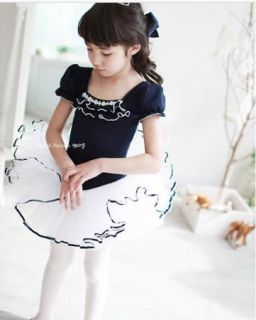 Girls Kids Party Fairy Ballet Dance Costume Tutu Skate Dress Skirt 3 9Y Lovely
