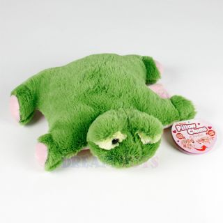 Pillow Chums Mini Sweeties Green Frog Soft Plush Baby or Toddler Small Sized