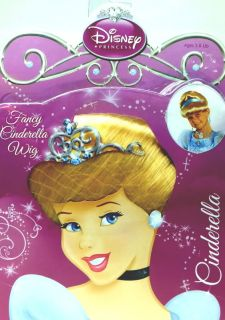 Disney Princesses Glamorous Fancy Dress Up Costume Wigs New