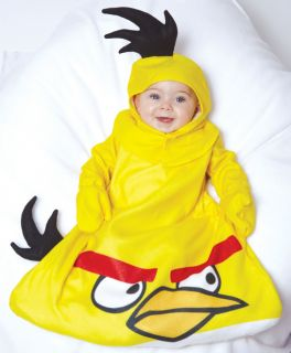 Infant Baby Boys Girls Angry Birds Yellow Bird Halloween Costume 0 9 Months