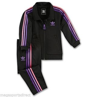 Adidas Originals Firebird Tracksuit Full Suit Baby Toddler Infant BNWT Girls