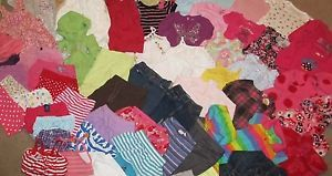 Huge Lot of Baby Girl Clothes 63 Pieces Nice Brands 12 18 18 24 Months