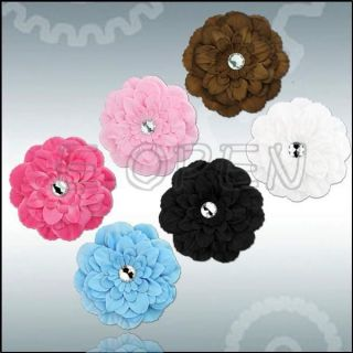 Photo Props Peony Flower Girls Baby Clip for Hair Headband 6 Colors Choose