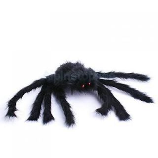 Fun Black Fake Spider Plush Halloween Party Prop Toy Decorations 40cm Brand New