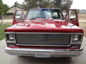 1977 Chevrolet Chevy C10 Silverado Pickup Truck Restored Side Step Short Bed