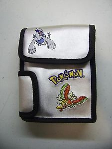 Pokemon Silver Gold Game Boy Color Game Boy Advance GBA Carrying Case Nice