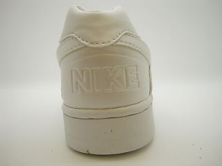 308985 111 Womens Nike Delta Force Low White Leather Soft Patent Pearl Foampos