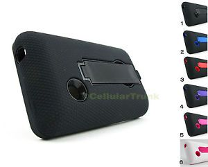 For LG 840G Pry Tool Heavy Duty Dual Layer Hybrid Case Cover New Accessory